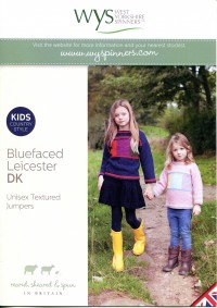 West Yorkshire Spinners Blue Faced Leicester DK - Unisex Textured Jumpers (leaflet)