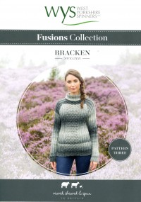 West Yorkshire Spinners Aire Valley Aran Fusions - Bracken Sweater (leaflet)