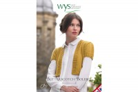 West Yorkshire Spinners - Butterscotch Bolero from the Copper Crown Collection in Aire Valley DK (downloadable PDF)