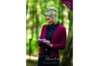 West Yorkshire Spinners - Cecilia Feature Leaf Lace Cardigan in Illustrious DK (downloadable PDF)