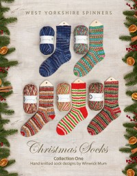 West Yorkshire Spinners - Christmas Socks - Collection One by Winwick Mum (book)