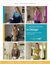 West Yorkshire Spinners - Collaboration in Design in Colour Lab DK (Book)