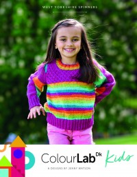 West Yorkshire Spinners - Colour Lab DK Kids (Book)