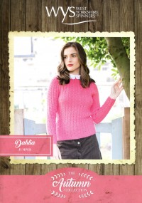 West Yorkshire Spinners Blue Faced Leicester DK - Dahlia Jumper (leaflet)