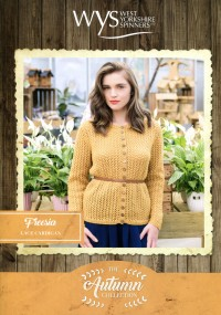West Yorkshire Spinners Blue Faced Leicester DK - Freesia Lace Cardigan (leaflet)