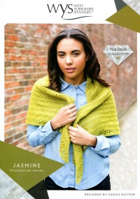 West Yorkshire Spinners Wensleydale Gems - Jasmine Triangular Shawl (leaflet)