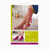 West Yorkshire Spinners - Melmerby Socks in Colour Lab DK (leaflet)