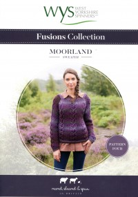 West Yorkshire Spinners Aire Valley Aran Fusions - Moorland Sweater (leaflet)