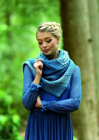 West Yorkshire Spinners Out of the Woods - Eloise Shawl (leaflet)