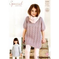Stylecraft 9398 Knitting Pattern Cardigan and Tunic