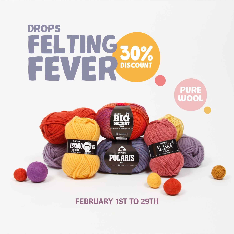 Felting Fever poster