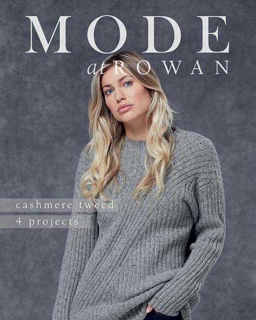 Mode at Rowan: 4 Projects: Cashmere Tweed
