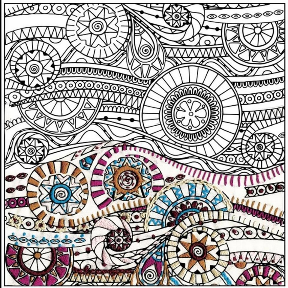 Design Works - Zenbroidery - Waves