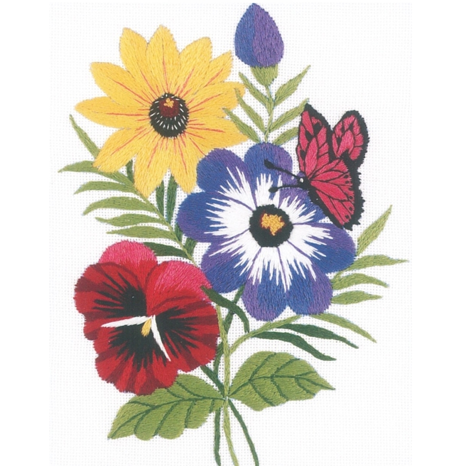 Janlynn - Floral Embroidery