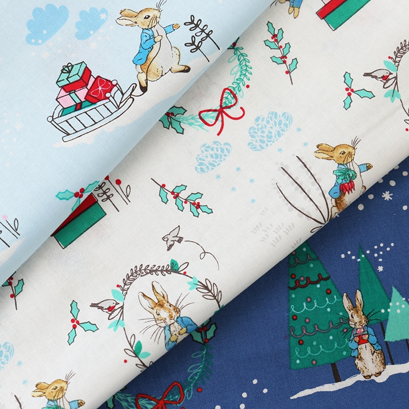 Craft Cotton Co - Peter Rabbit Christmas