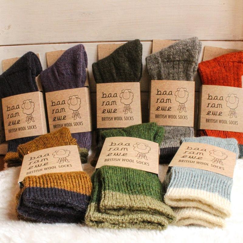 Baa Ram Ewe Ready-made Socks