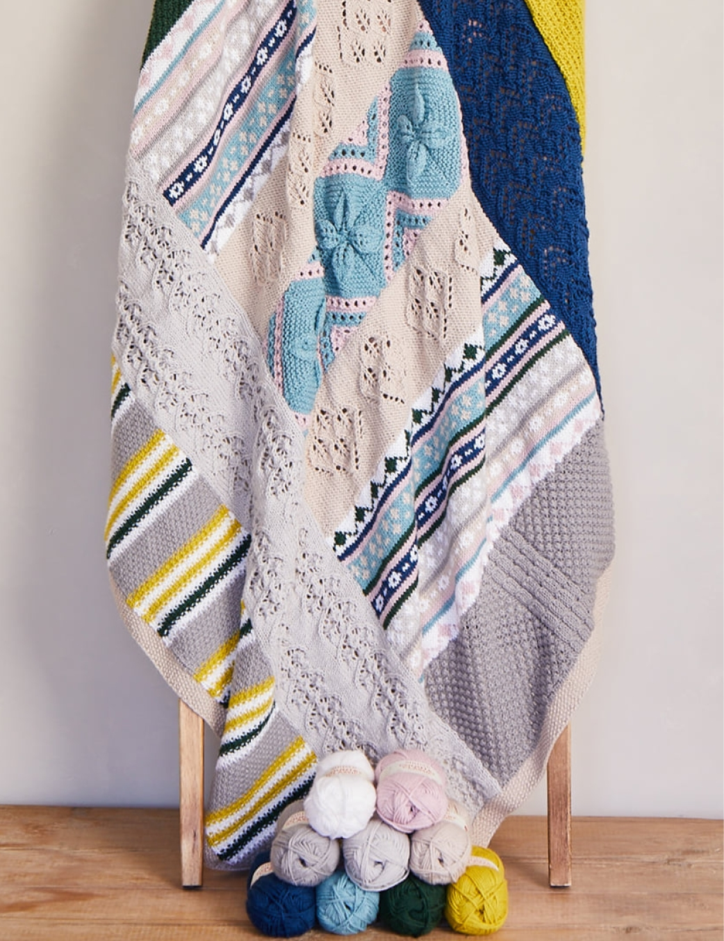 Sirdar Kal No Place Like Home Blanket Nordic Retreat Yarn Pack Wool Warehouse Buy Yarn Wool Needles Other Knitting Supplies Online