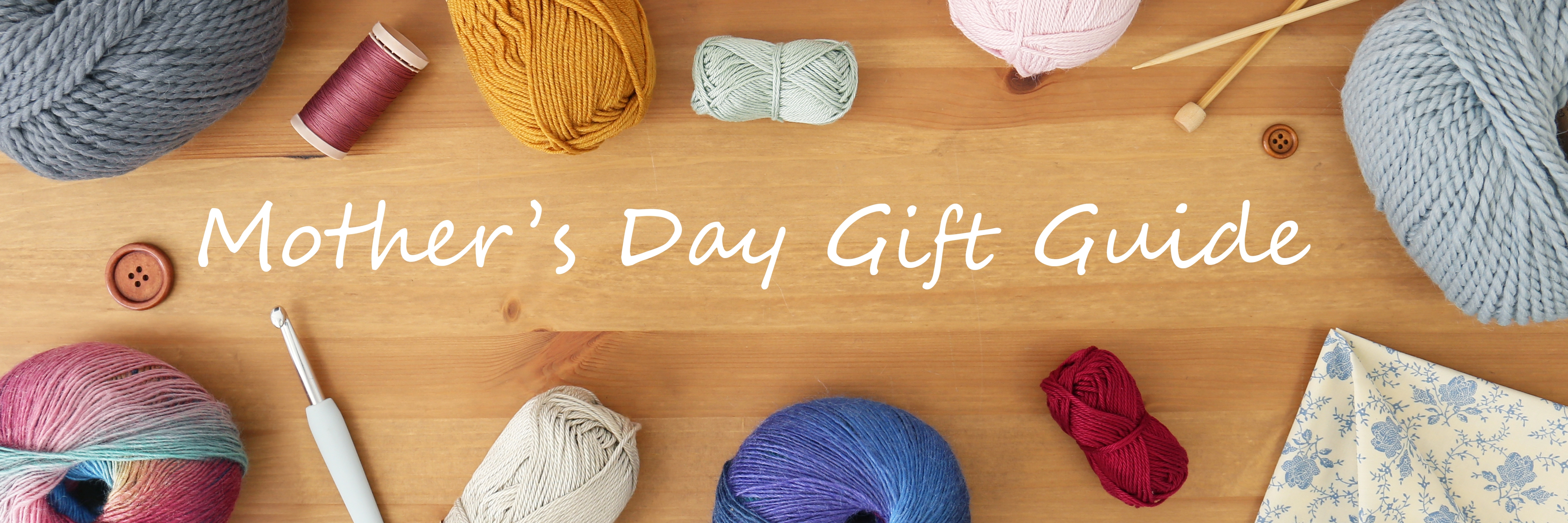 Mother's Day Gift Guide header image
