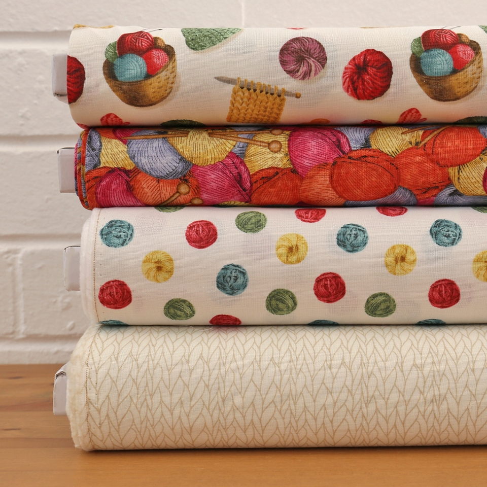 Windham Fabrics - Knit and Purl