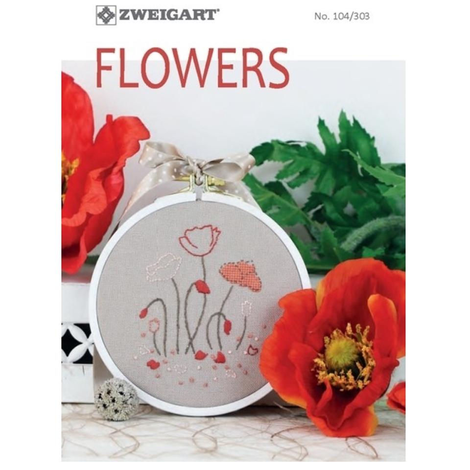 Zweigart - Flowers Embroidery Pattern