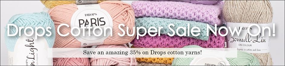Drops Cotton Super Sale