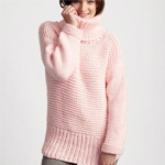 Free Pattern! 'Big Box' Knitted Pullover in Bernat Beyond