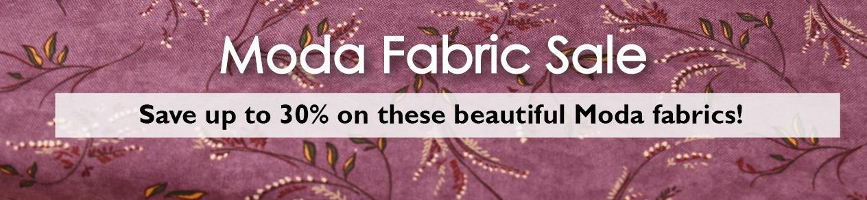 Moda Fabric Sale