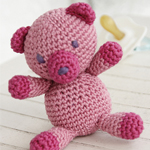 Free Pattern! Crocheted Teddy in DROPS Muskat