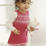 Free Pattern! Knitted Dress in DROPS Baby Merino