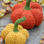Free Pattern! Knitted Pumpkins in Drops Nepal