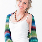 Free Pattern! Knitted Shrug in Noro Taiyo 4 Ply
