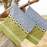 Free Pattern! 'Summer Grazing' Potholder in Drops Safran