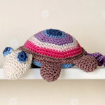 Free Pattern! Timmy the Turtle crocheted in Drops Muskat