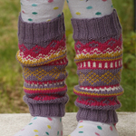 Free Pattern! Children's Knitted Legwarmers in Drops Merino Extra Fine