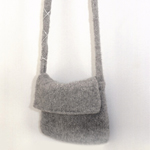 Free Pattern! Felted Bag knitted in Drops Alaska