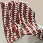 Free Pattern! 'Larksfoot' Blanket in Bernat Blanket