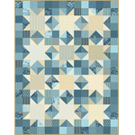 Free Pattern! 'Ring Bearer' Quilt in Andover Fabrics' 'Something Blue' Collection