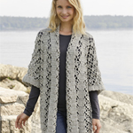 Free Pattern! 'Saskia' Wrist Warmers knitted in Drops Baby Merino