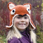 Free Pattern! Children's Fox Hat - knitted and crocheted in Drops Andes
