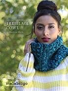 Free Pattern! 'Treillage' Cowl knitted in Malabrigo Rasta