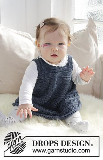 Free Pattern! 'Serafina' Knitted Dress in Drops Alpaca