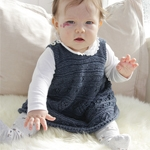 Free Pattern! 'Serafina' Knitted Dress in Drops Alpaca