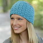 Free Pattern! Crocheted Headband in Drops Nepal