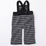 Free Pattern! Crocheted Dungarees in Caron Simply Soft