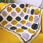 Free Pattern! 'Desert Storm' Blanket crocheted in Cygnet DK