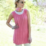 Free Pattern! Knitted Tunic in Caron Simply Soft
