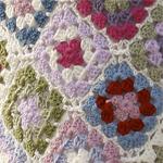 Granny Square Blanket in DROPS Merino Extra Fine