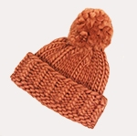 Free Pattern! 'Mila' Beanie knitted in Wool and the Gang Crazy Sexy Wool