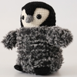 Free Pattern! Crocheted Baby Penguin by Laura Sutcliffe