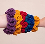 Free Pattern! Crocheted Scrunchies in Cygnet Chenille Chunky